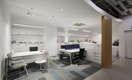 دکوراسیون داخلی ساختمان اداری در استانبول ترکیه با طراحی مدرن