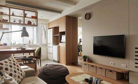 دیزاین خانه های کوچک با روشی خلاقانه برای حل مشکل کمبود فضا