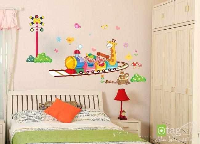 راهنمای خرید استیکر اتاق کودک - برچسب دیواری (4)