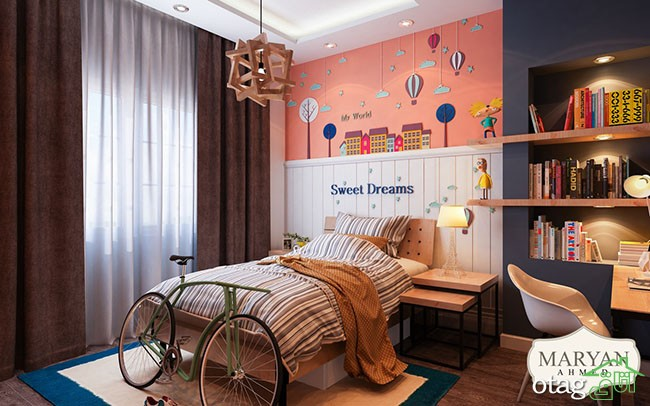 رنگ-دیوار-اتاق-کودک (12)