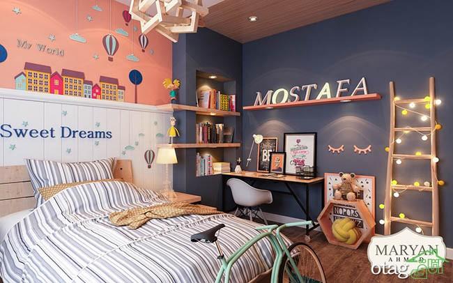 رنگ-دیوار-اتاق-کودک (9)