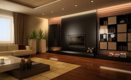 راهنمای جامع رنگ دیوار پذیرایی و نشمین خانه سال 2018 با 34 نمونه