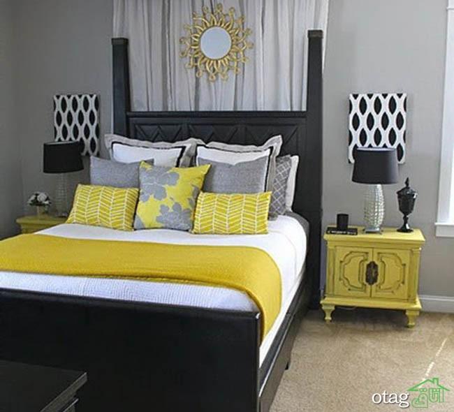 رنگ-زرد-در-اتاق-خواب (10)