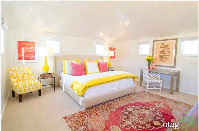 رنگ-زرد-در-اتاق-خواب (23)