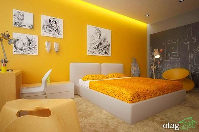 رنگ-زرد-در-اتاق-خواب (28)