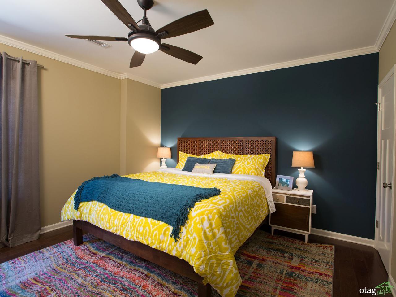 رنگ-زرد-در-اتاق-خواب (29)