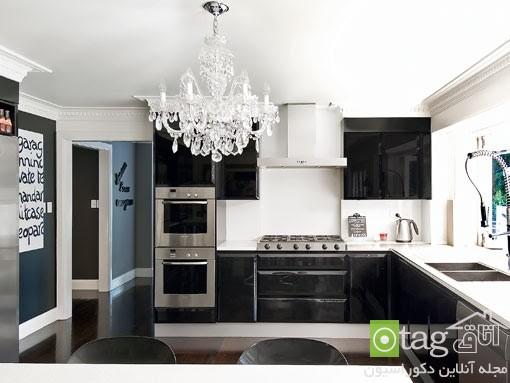روشهای منحصر بفرد طراحی آشپزخانه مدرن شیک (1)