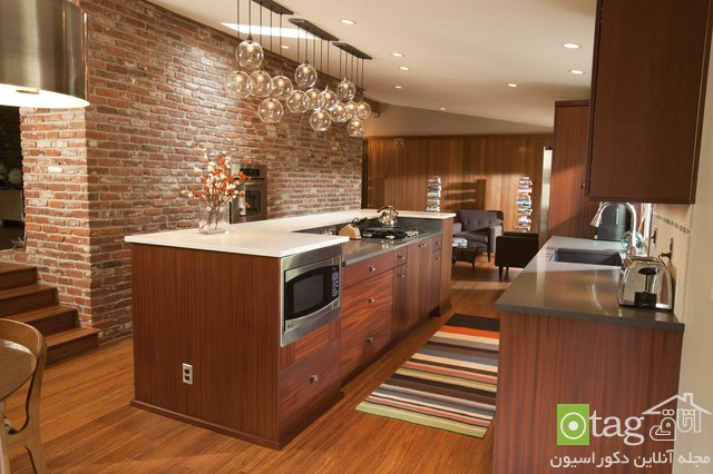 روشهای منحصر بفرد طراحی آشپزخانه مدرن شیک (2)