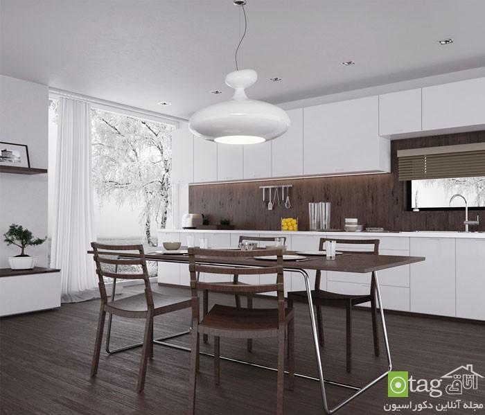 روشهای منحصر بفرد طراحی آشپزخانه مدرن شیک (6)