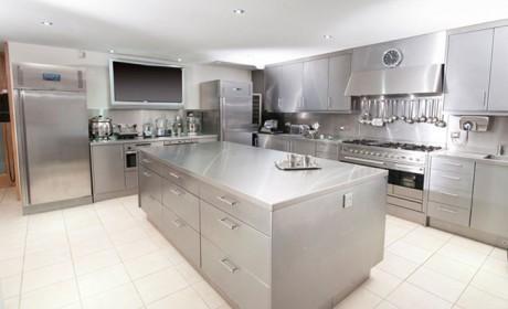 مدل های جدید رویه کابینت استیل مناسب آشپزخانه های صنعتی