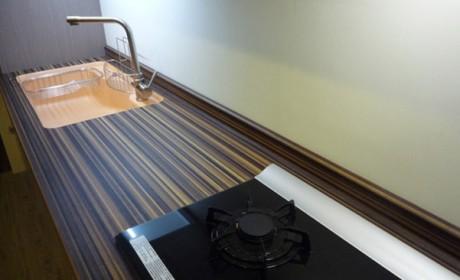 رویه کابینت ام دی اف و چوبی برای آشپزخانه های گرم و شیک