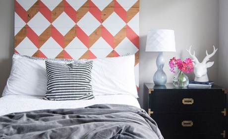 ایده های شگفت انگیز برای ساخت تاج تخت خواب با وسایلی ساده