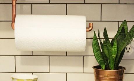 آموزش کامل نحوه ساخت جا دستمال کاغذی برای آشپزخانه