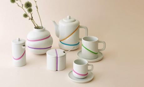 جدیدترین عکس های سرویس چایخوری شیک و زیبا در طرح های مدرن