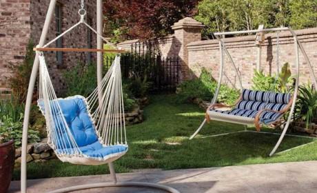 20 مدل صندلی تاب خور راحتی مناسب حیاط و فضای بیرون