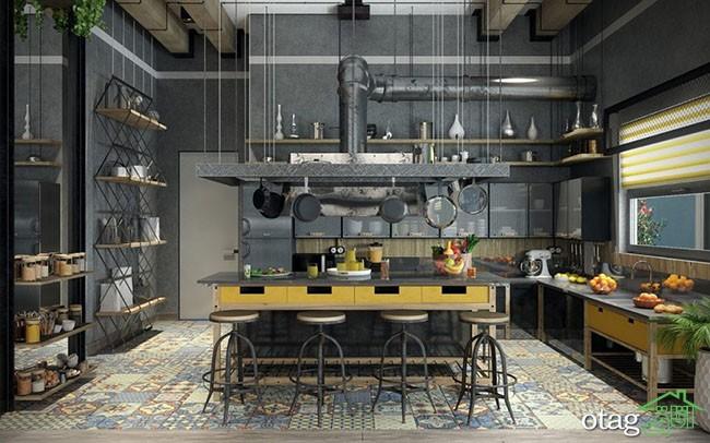 طراحی-آشپزخانه-صنعتی (1)