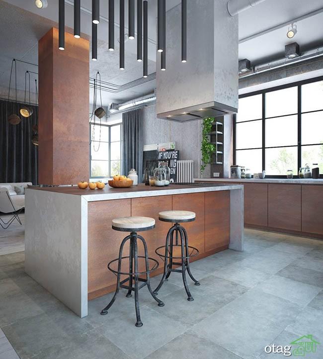 طراحی-آشپزخانه-صنعتی (23)