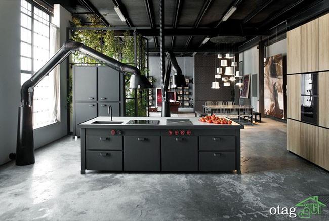 طراحی-آشپزخانه-صنعتی (26)