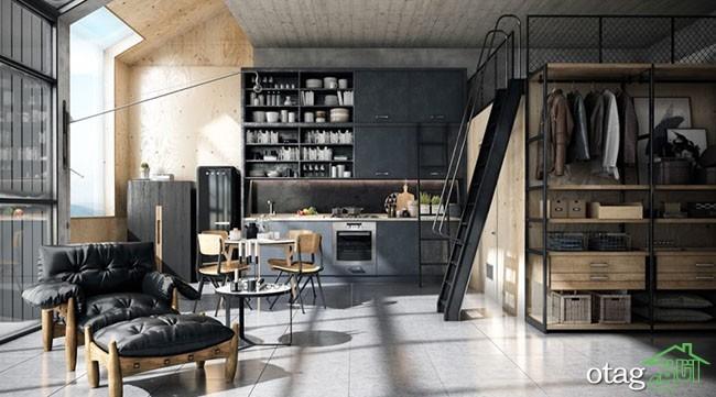 طراحی-آشپزخانه-صنعتی (27)