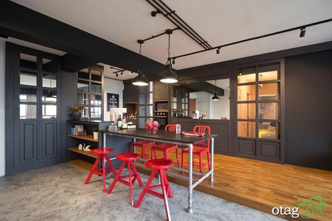 طراحی-آشپزخانه-صنعتی (6)