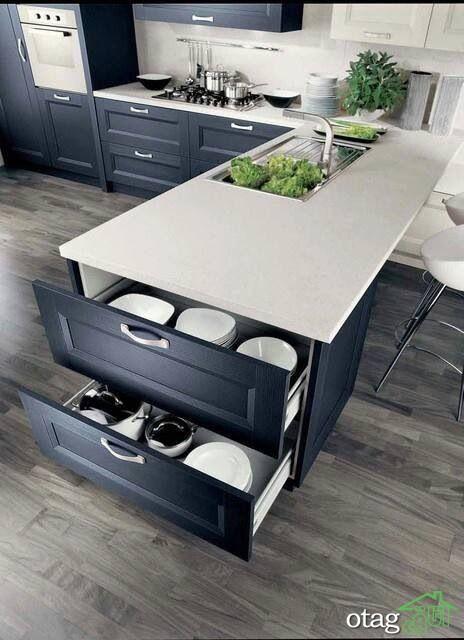 طراحی دکوراسیون آشپزخانه حرفه ای (2)
