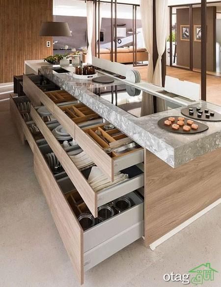 طراحی دکوراسیون آشپزخانه حرفه ای (4)