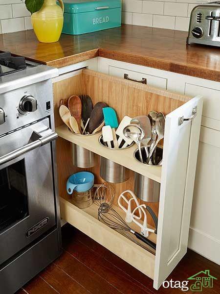طراحی دکوراسیون آشپزخانه حرفه ای (7)