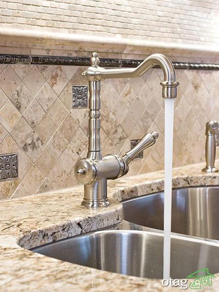 طراحی دیوار پشت ظرفشویی آشپزخانه (10)