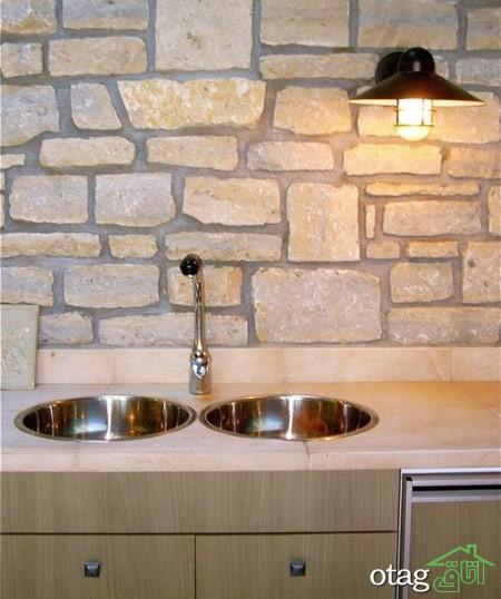 طراحی دیوار پشت ظرفشویی آشپزخانه (16)