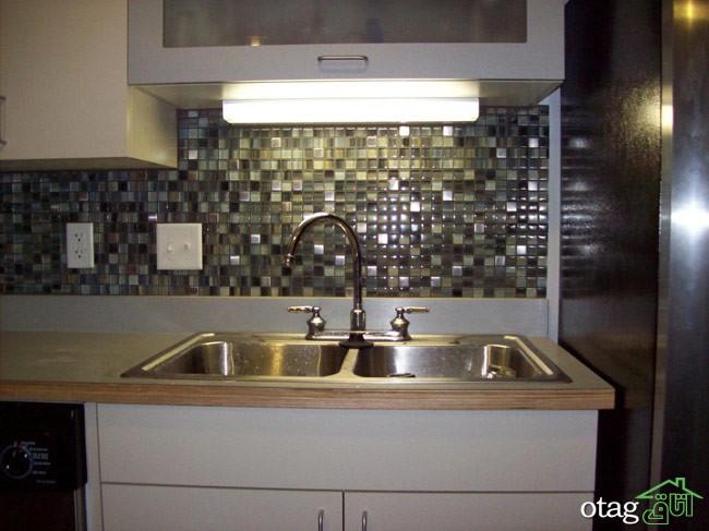 طراحی دیوار پشت ظرفشویی آشپزخانه (17)