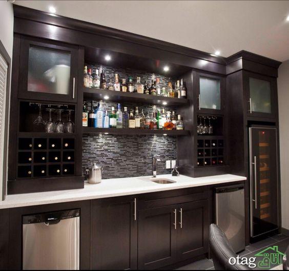 طراحی دیوار پشت ظرفشویی آشپزخانه (2)