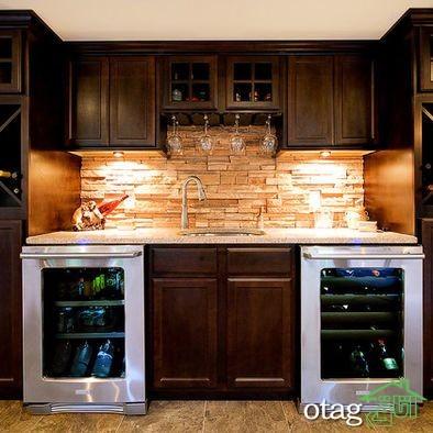 طراحی دیوار پشت ظرفشویی آشپزخانه (3)
