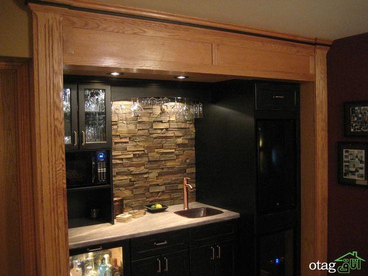 طراحی دیوار پشت ظرفشویی آشپزخانه (4)