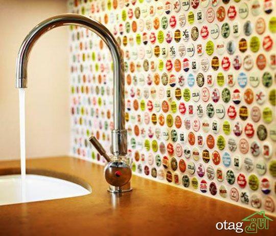 طراحی دیوار پشت ظرفشویی آشپزخانه (6)