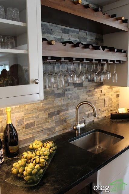 طراحی دیوار پشت ظرفشویی آشپزخانه (7)