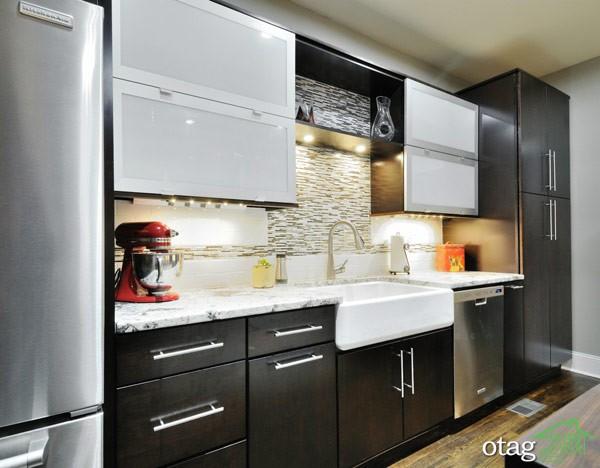 طراحی دیوار پشت ظرفشویی آشپزخانه (8)