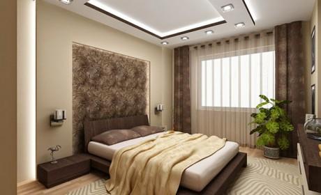 طرح کناف اتاق خواب جدید و شیک در مدل های ساده و پیچیده
