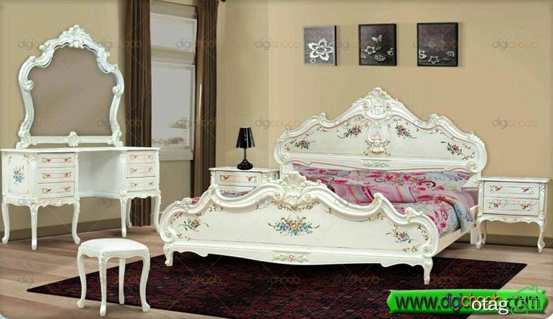 قیمت سرویس خواب و تختخواب دو نفره دیجی چوب (1)