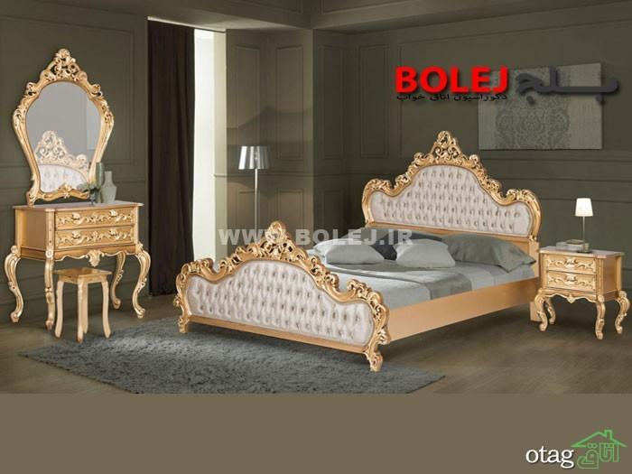 قیمت سرویس خواب و تختخواب عروس دو نفره بلج (1)