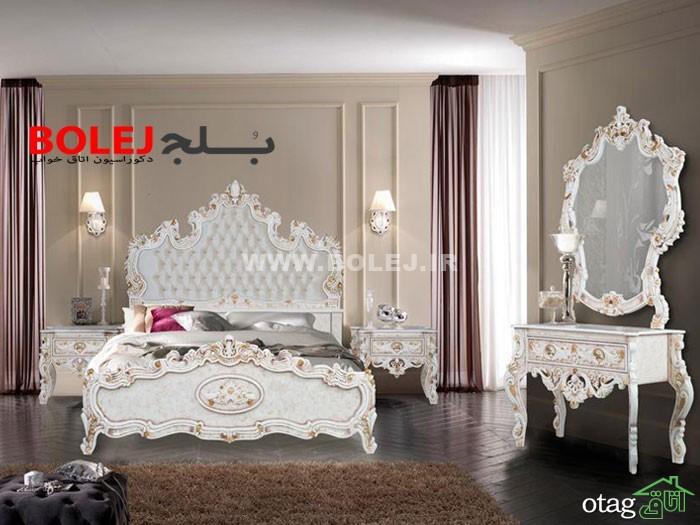 قیمت سرویس خواب و تختخواب عروس دو نفره بلج (2)