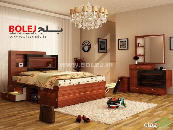قیمت سرویس خواب و تختخواب عروس دو نفره بلج (3)