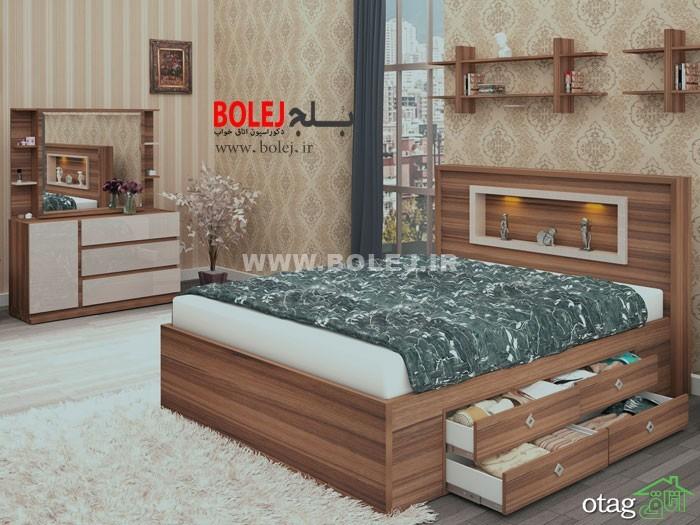 قیمت سرویس خواب و تختخواب عروس دو نفره بلج (5)
