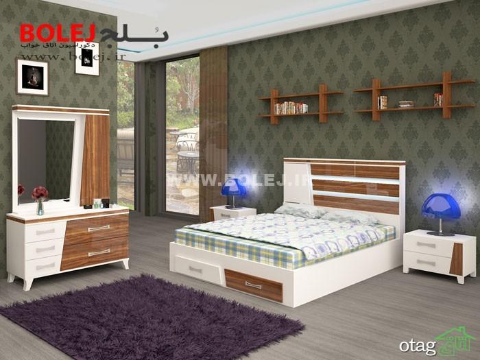 قیمت سرویس خواب و تختخواب عروس دو نفره بلج (6)