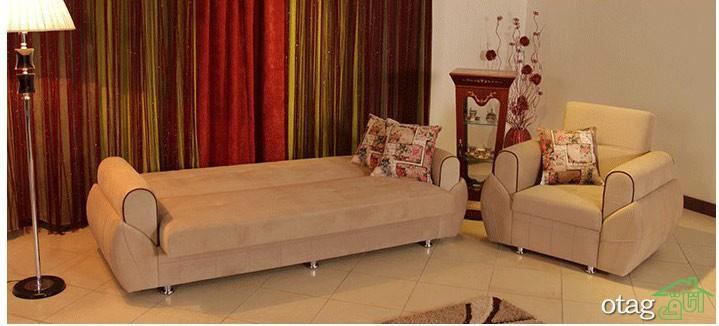 مبل تختخواب شو ارکیده (1)