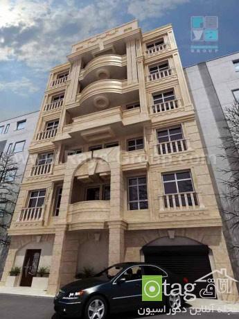 مدلهای جدید نمای ساختمان مسکونی در ایران (1)