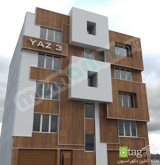 مدلهای جدید نمای ساختمان مسکونی در ایران (3)