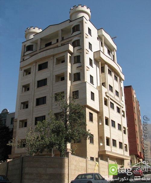 مدلهای جدید نمای ساختمان مسکونی در ایران (5)