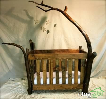 مدل تخت و کمد نوزاد (1)
