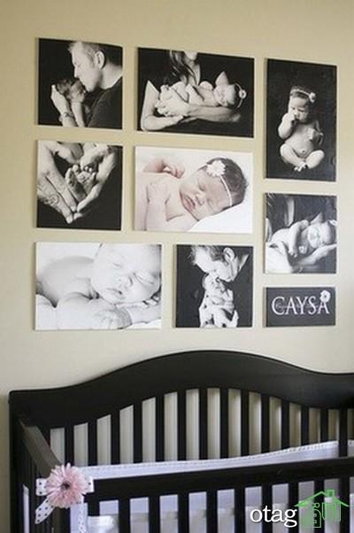 مدل تخت و کمد نوزاد (12)