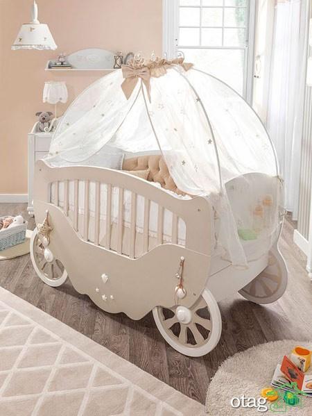 مدل تخت و کمد نوزاد (5)
